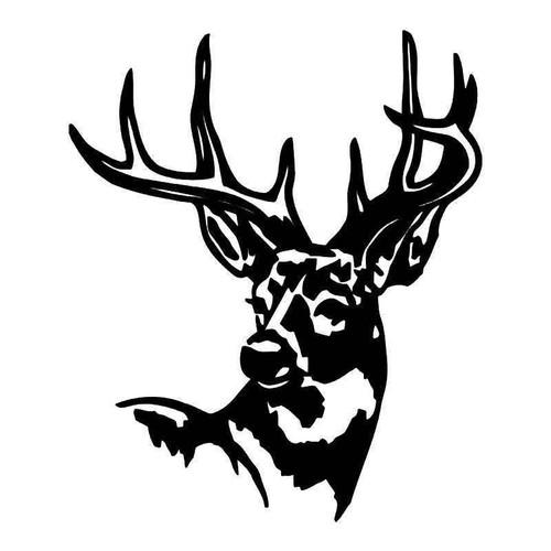 Deer Buck 3 Vinyl Sticker