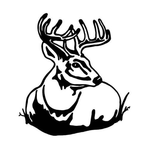 Deer Buck 4 Vinyl Sticker