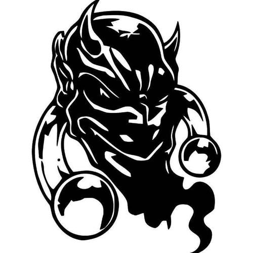 Demon Devil Vinyl Sticker