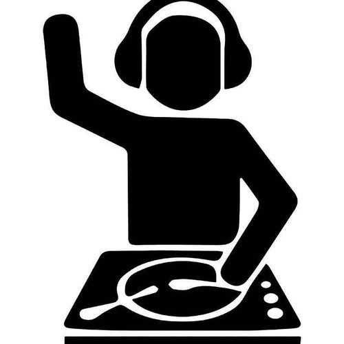 Dj Turntable Vinyl Sticker