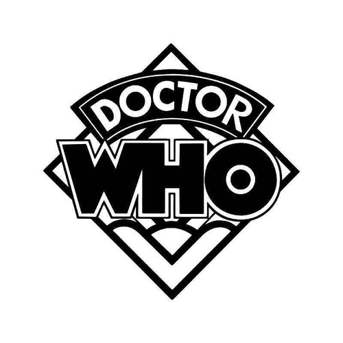 Doctor Who 2 Vinyl Sticker