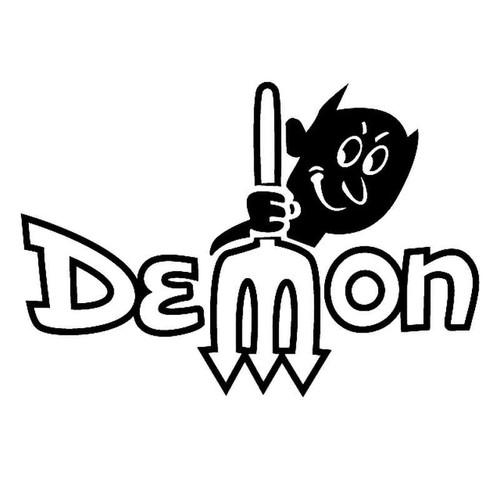 Dodge Demon Characterright Vinyl Sticker