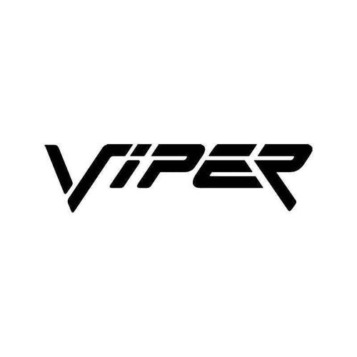 Dodge Viper Vinyl Sticker