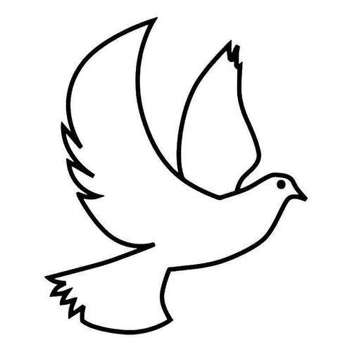Dove Bird Peace 1 Vinyl Sticker