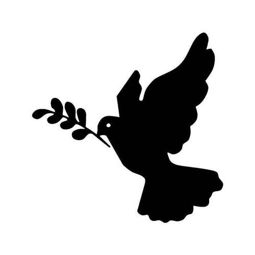 Dove Bird Peace 4 Vinyl Sticker