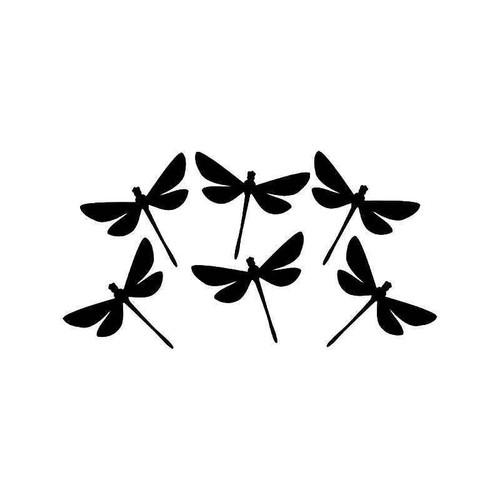 Dragonflies Vinyl Sticker