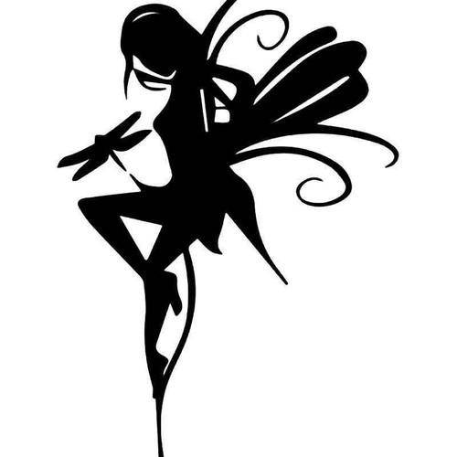 Dragonfly Fairy Vinyl Sticker