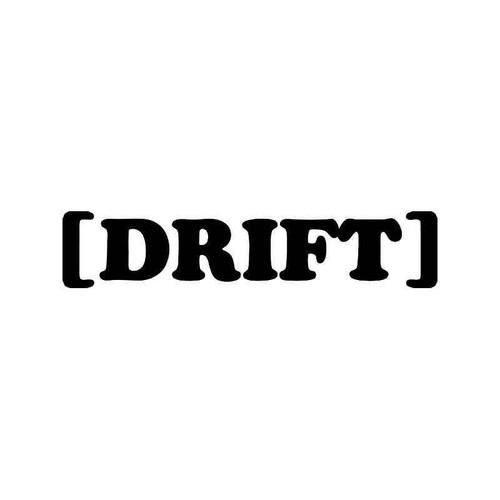 Drift Jdm Japanese 2 Vinyl Sticker