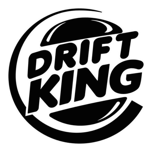 Drift King 436 Vinyl Sticker