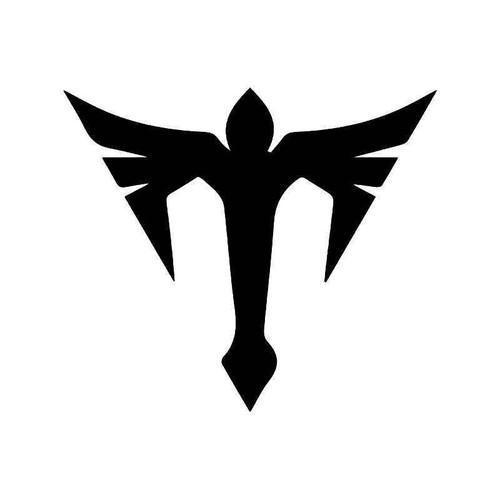 Eagle Phoenix Minimal Vinyl Sticker