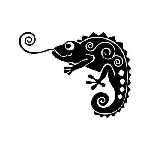 E Chameleon Lizard 1 Vinyl Sticker