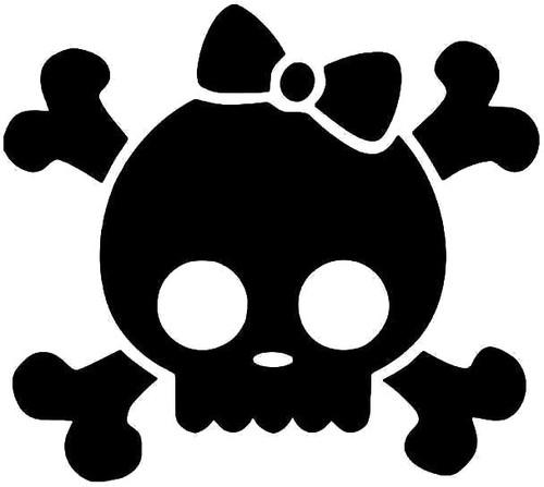 Skull Crossbones Girl