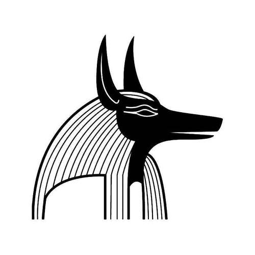 Egyptian Anubis Vinyl Sticker
