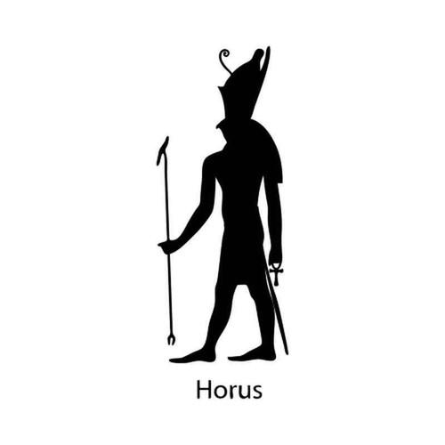 Egyptian God Horus 1231 Vinyl Sticker
