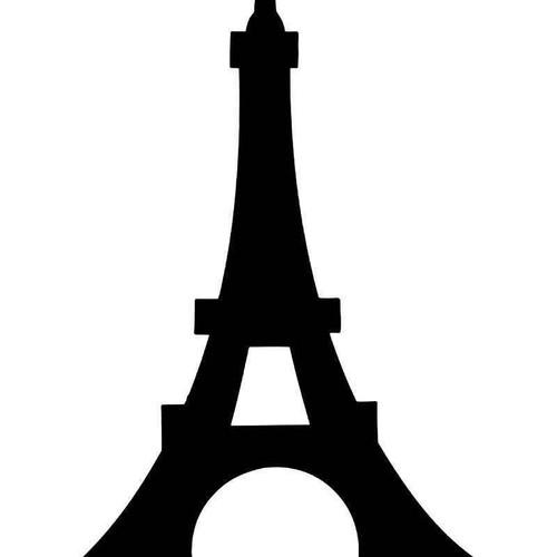 Eiffel Tower Paris 1 Vinyl Sticker