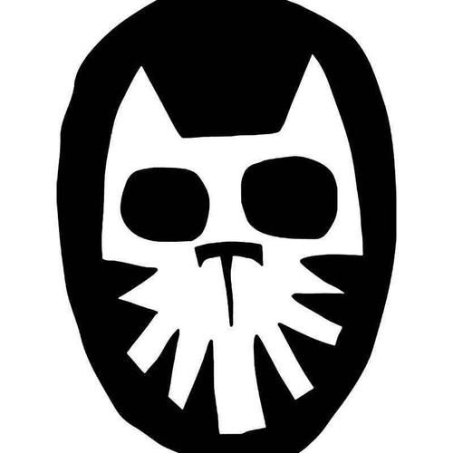 El Gato Lucha Libre Vinyl Sticker