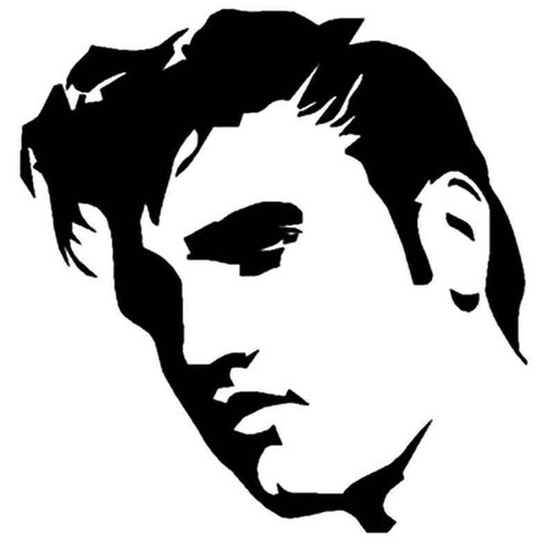 Elvis 731 Vinyl Sticker