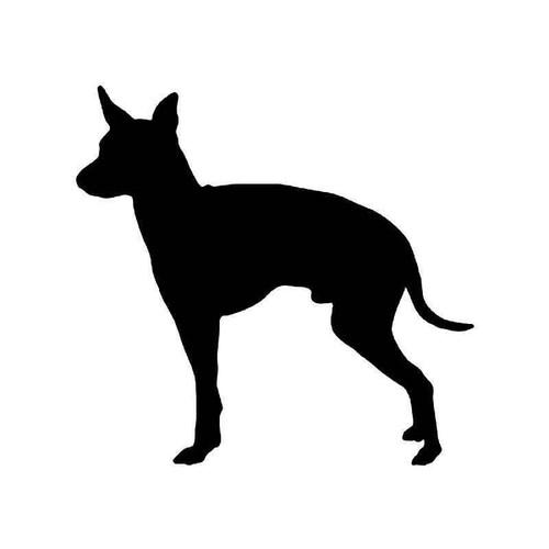 English Toy Terrier Dog Vinyl Sticker