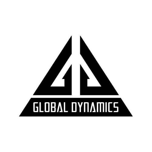 Eureka Global Dymamics Vinyl Sticker