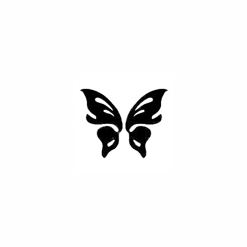 Butterfly Decal (17) Size option will determine the size from the longest side Industry standard high performance calendared vinyl film Cut from Oracle 651 2.5 mil Outdoor durability is 7 years Glossy surface finish