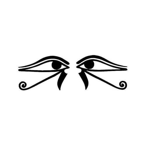 Eyes Of Horus Ra Vinyl Sticker