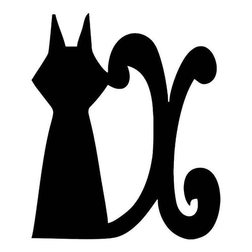 Fairy Tale Cat Vinyl Sticker