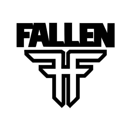 Fallen Footwear 1 Vinyl Sticker