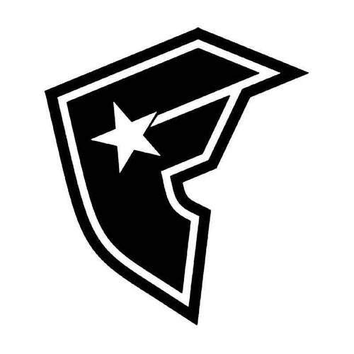 Famous Family Logo 2 Vinyl Sticker