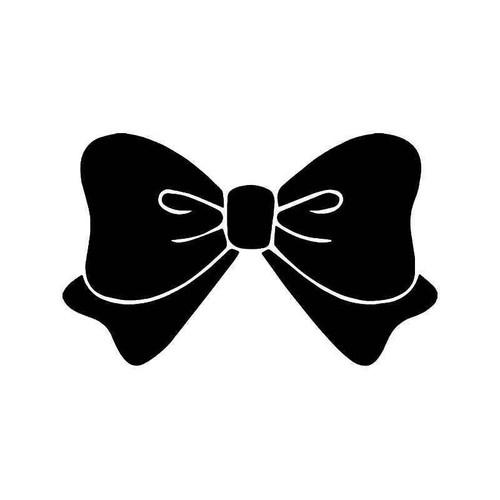 Fancy Bow Tie Vinyl Sticker