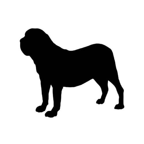Fila Brasileiro Dog Vinyl Sticker