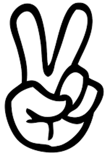Fingers Peace Sign