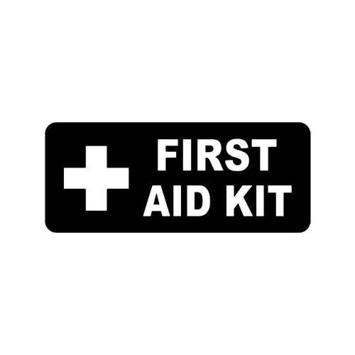 First Aid Kit 1 Vinyl Sticker