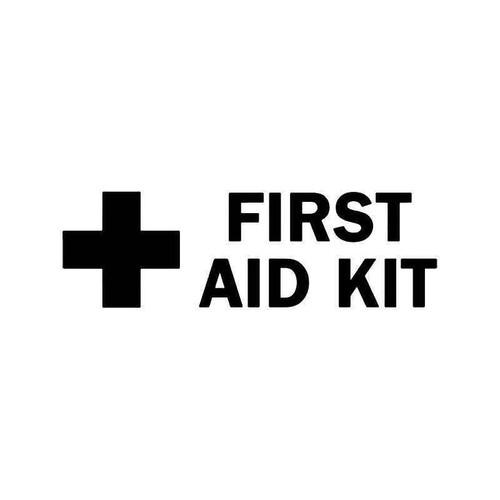First Aid Kit 2 Vinyl Sticker