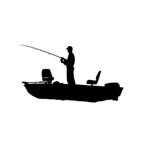 Fishing 2 Vinyl Sticker