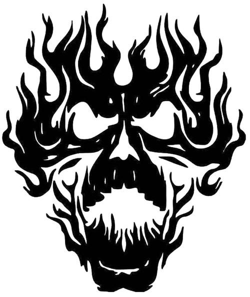 Flame Skull 2