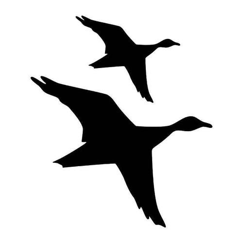 Flying Geese Vinyl Sticker
