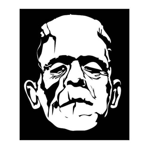 Frankenstein 1357 Vinyl Sticker