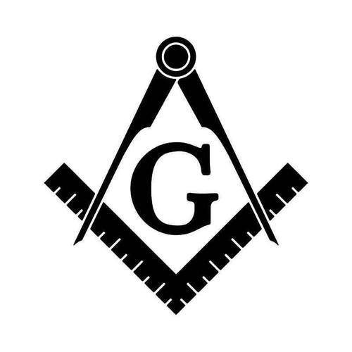 Freemason Templar Masonic Symbol Vinyl Sticker