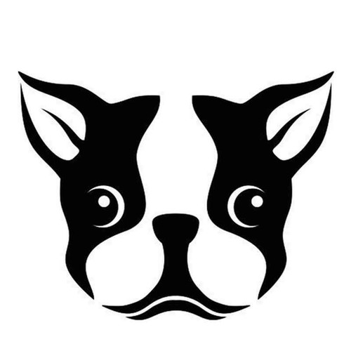 French Bulldog 1304 Vinyl Sticker