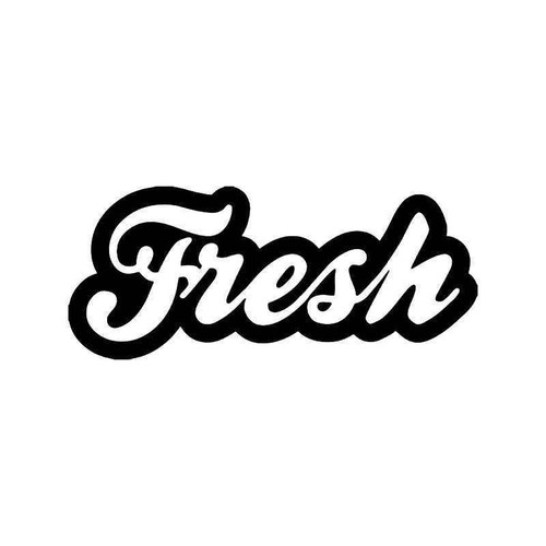 Fresh Jdm Japanese 2 Vinyl Sticker