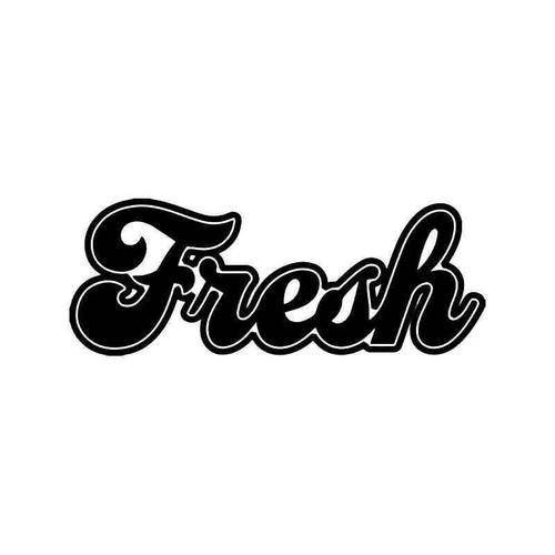 Fresh Jdm Japanese 6 Vinyl Sticker