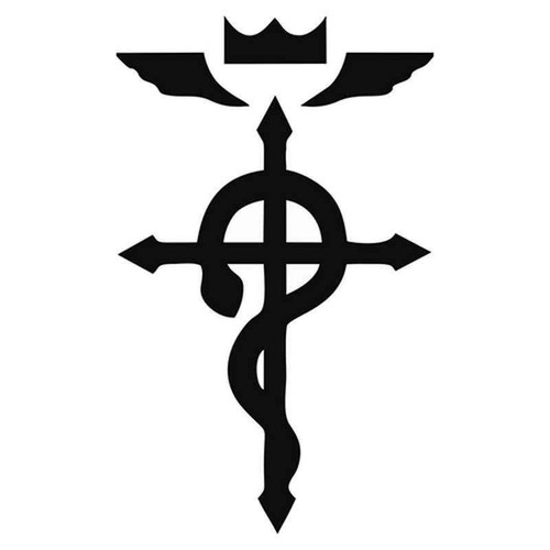 Full Metal Alchemist Symbol 1959 Vinyl Sticker
