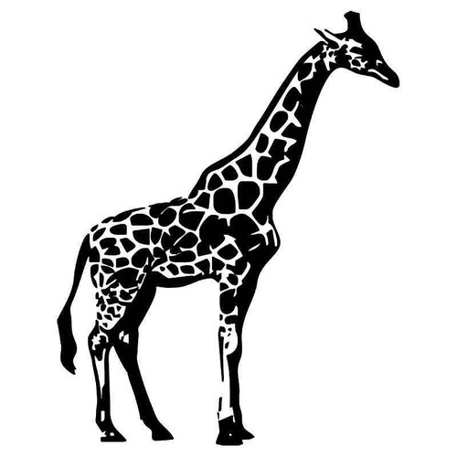 Giraffe 3 Vinyl Sticker