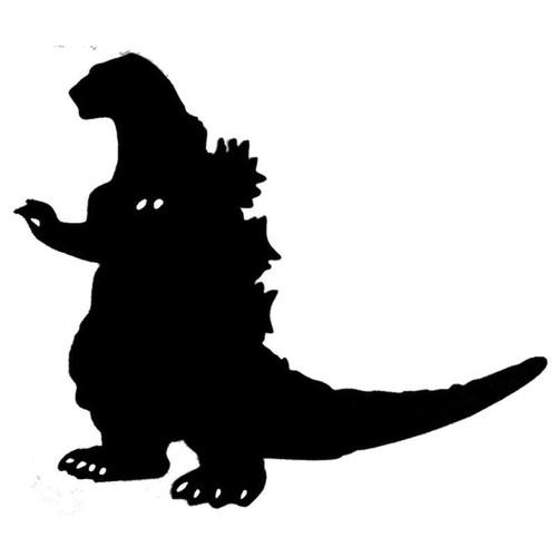 Godzilla 208 Vinyl Sticker