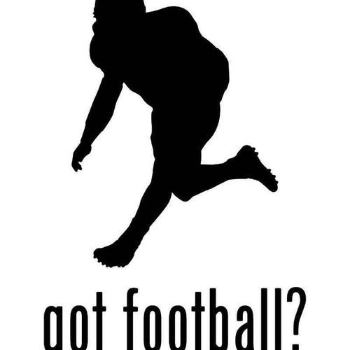 Got Defense Football Vinyl Sticker