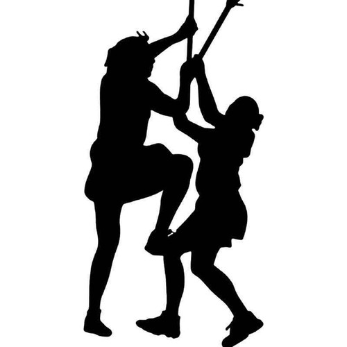 Got Lacrosse Sports Women 1 Vinyl Sticker