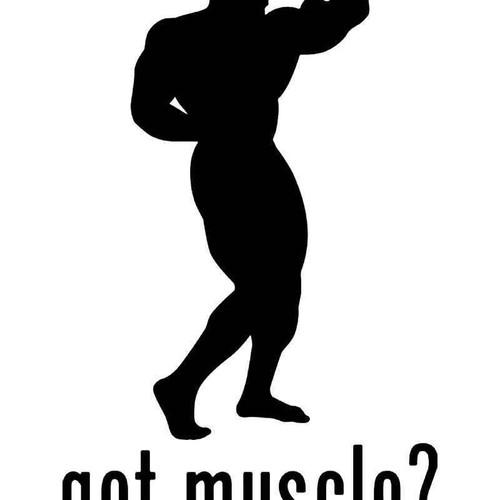 Got Muscle Bodybuiding Vinyl Sticker