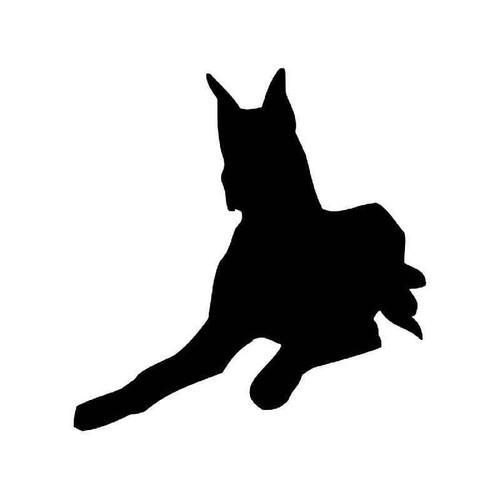 Great Dane Dog 1 Vinyl Sticker