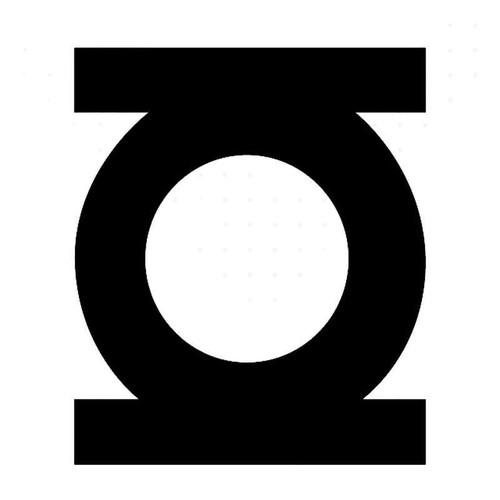 Green Lantern Symbol Vinyl Sticker