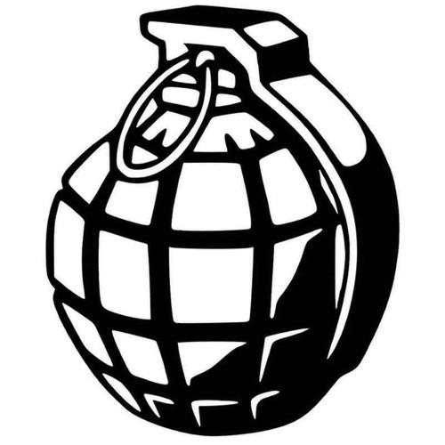 Grenade 724 Vinyl Sticker